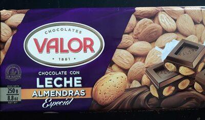 Chocolate con leche y almendras - Producte - es