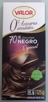 Chocolate negro 70% sin azucares anadidos - Producto