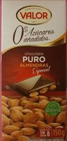 Chocolate puro almendras especial - Product - es