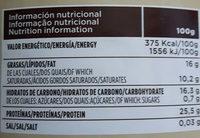 Cacao puro en polvo desgrasado especial - Nutrition facts - es