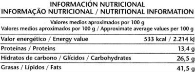 Tableta de chocolate negro con almendras 70% cacao - Nutrition facts - es