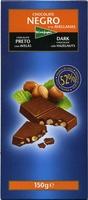 Chocolate negro con avellanas 52% de cacao - Producto