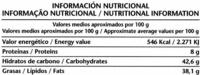 Chocolate negro con avellanas 52% de cacao - Información nutricional - es