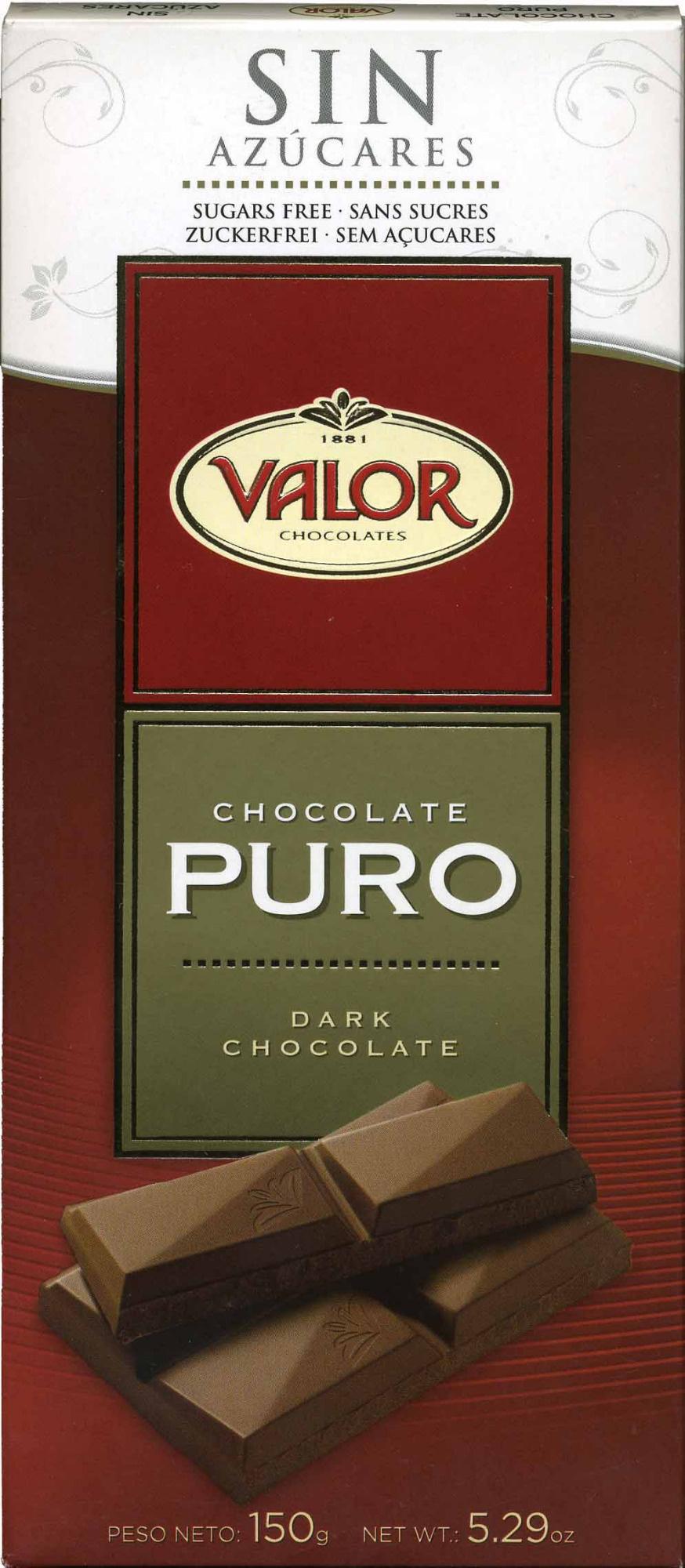 Chocolate 0% Azucares añadidos - Producto