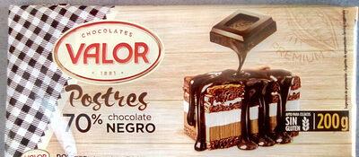 Postres chocolate negro sin gluten - Producte - en