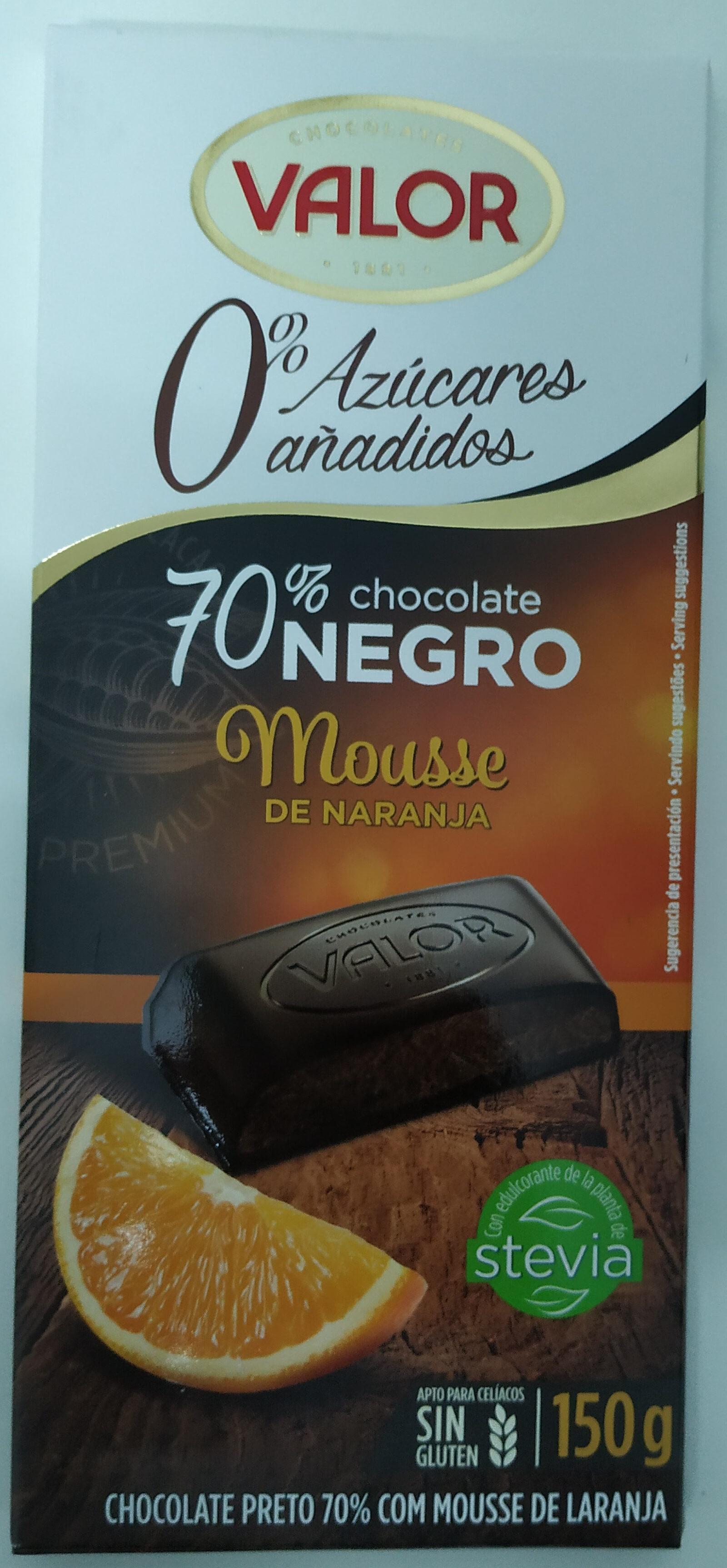 Chocolate negro mousse de naranja - Product