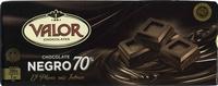 Tableta de chocolate negro 70% cacao - Product - es
