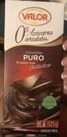Xocolata Pur Valor Sense Sucre - Producto