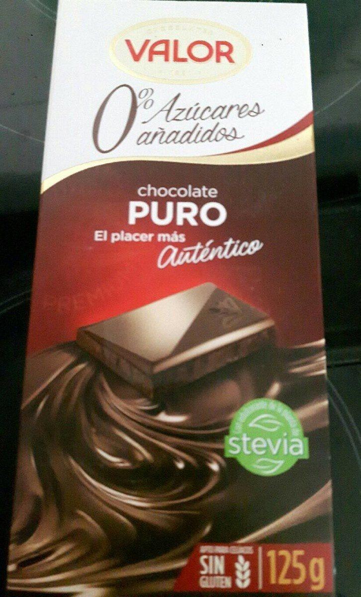 Xocolata Pur Valor Sense Sucre - Produit - fr