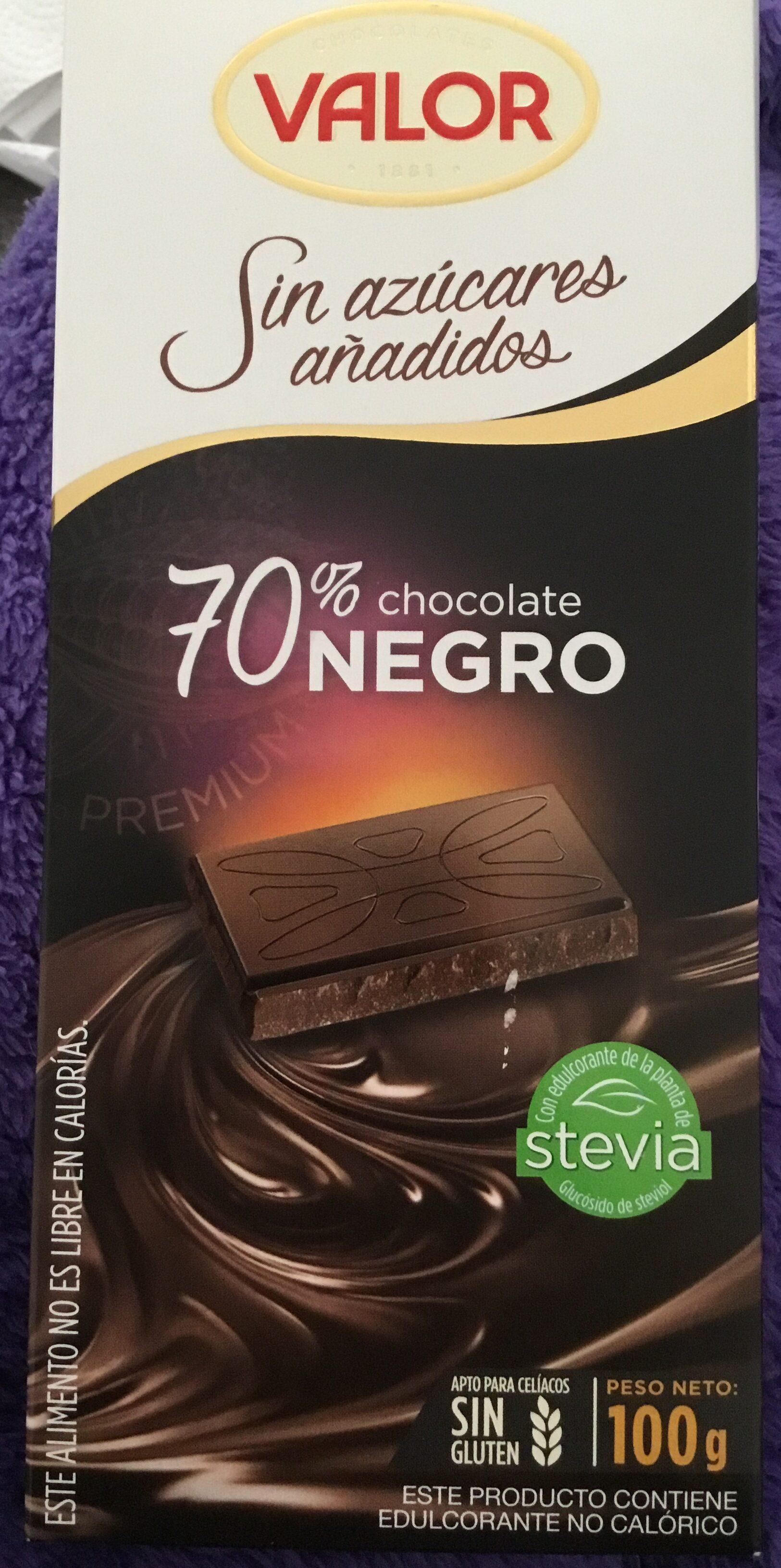 Chocolate negro 70% sugar free - Product - en