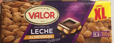 Chocolate con leche y almendras Valor