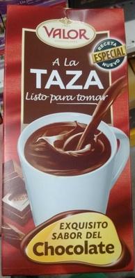Chocolate a la taza listo para tomar - Producto