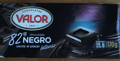 Chocolate negro 82% - Producte - es