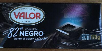Chocolate negro 82% - Product