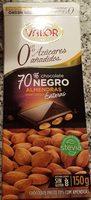 Chocolate negro 70% con almendras - Produit