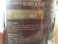Chocolatissimo Valor - Ingredientes