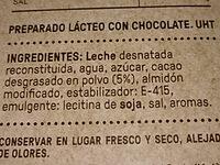 A La TAZA - Ingredientes
