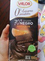 Chocolate negro naranja 70% - Product - es