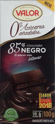 Chocolate negro 85% 0% Azúcares añadidos - Product - es