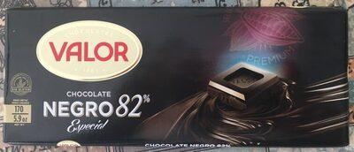 Chocolate negro 82% especial
