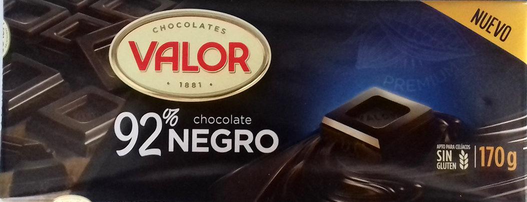 Chocolate negro sin gluten - Producte - es