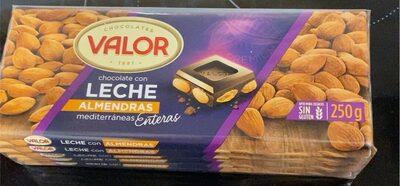 Chocolate con leche almendras - Product - es
