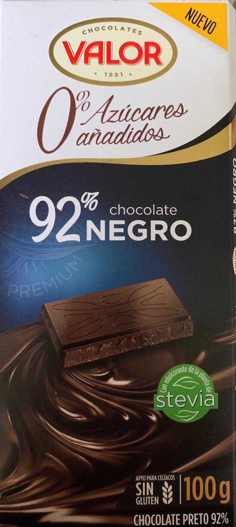 Chocolate negro 92% - Product - es