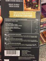 Chocolate negro 92% - Voedingswaarden - es