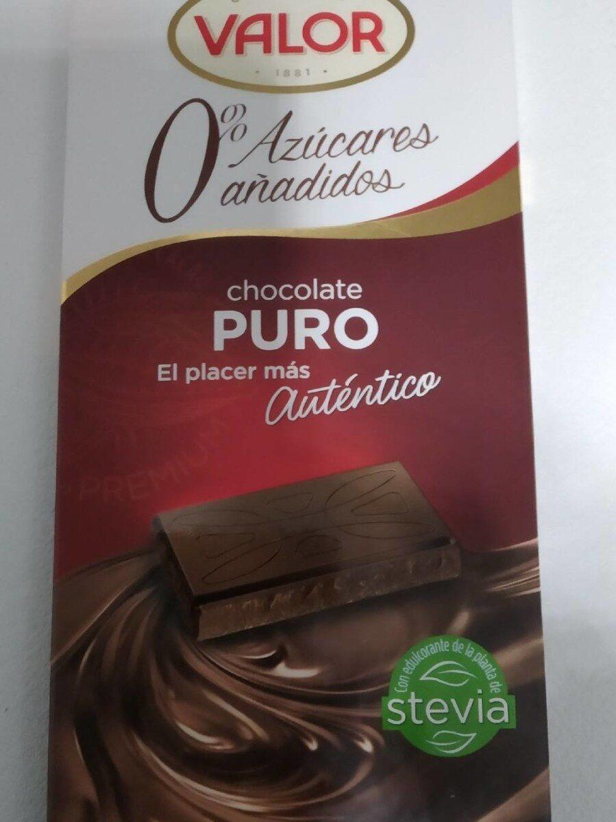 Chocolate Puro 0% azúcar añadido - Product - es