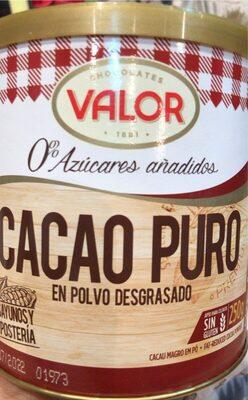 Cacao puro - Product - es