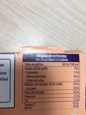 Atún Claro en aceite de oliva - Información nutricional