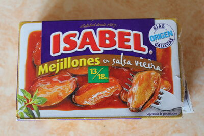 Mejillones en salsa vieira - Product - es