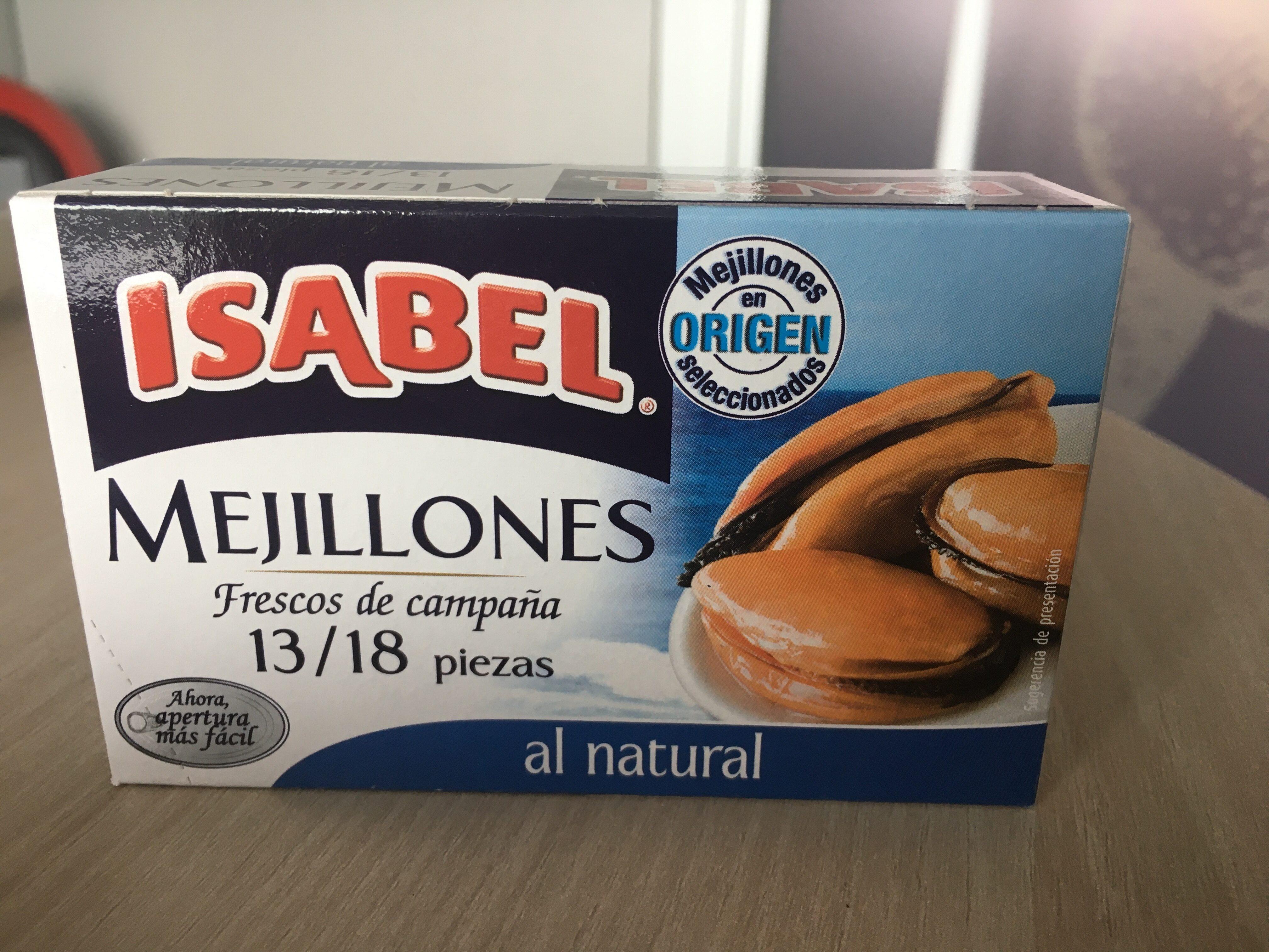 Mejillones al natural - Produit