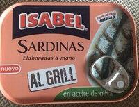 Sardinas al grill en aceite de oliva - Producte