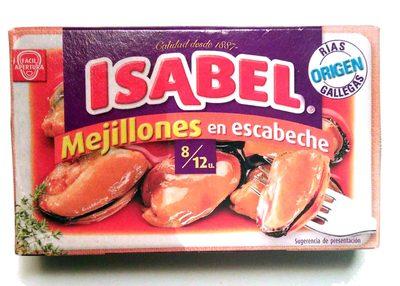 Mejillones en escabeche - Produit