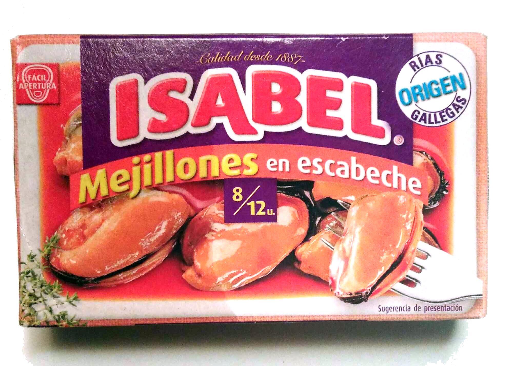 Mejillones en escabeche - Product - es