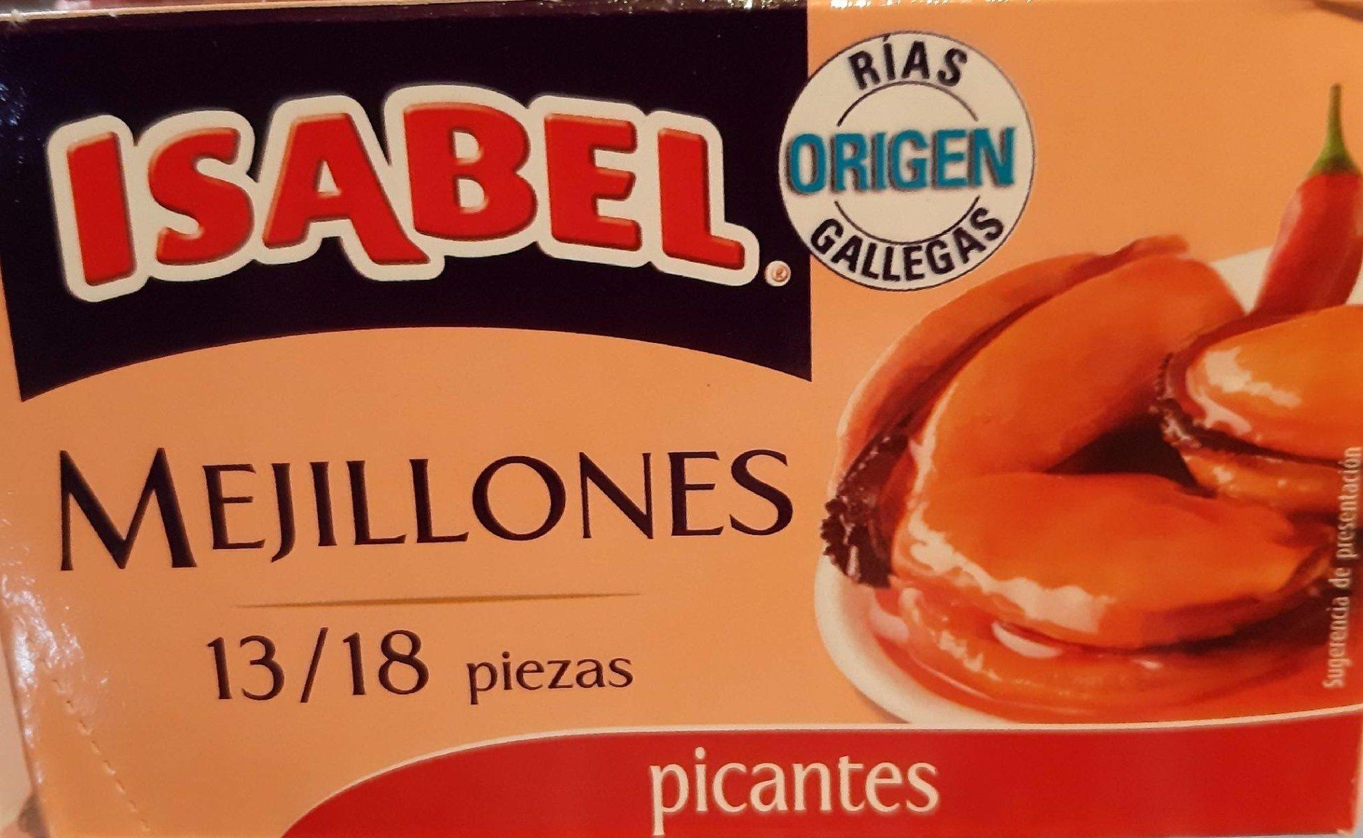 Mejillones picantes - Produit - fr