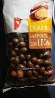Cacahuetes con chocolate con leche - Product - es