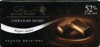 Chocolate negro suave 52% cacao - Produit