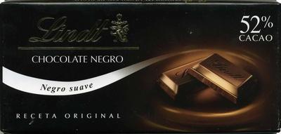 Chocolate negro suave 52% cacao