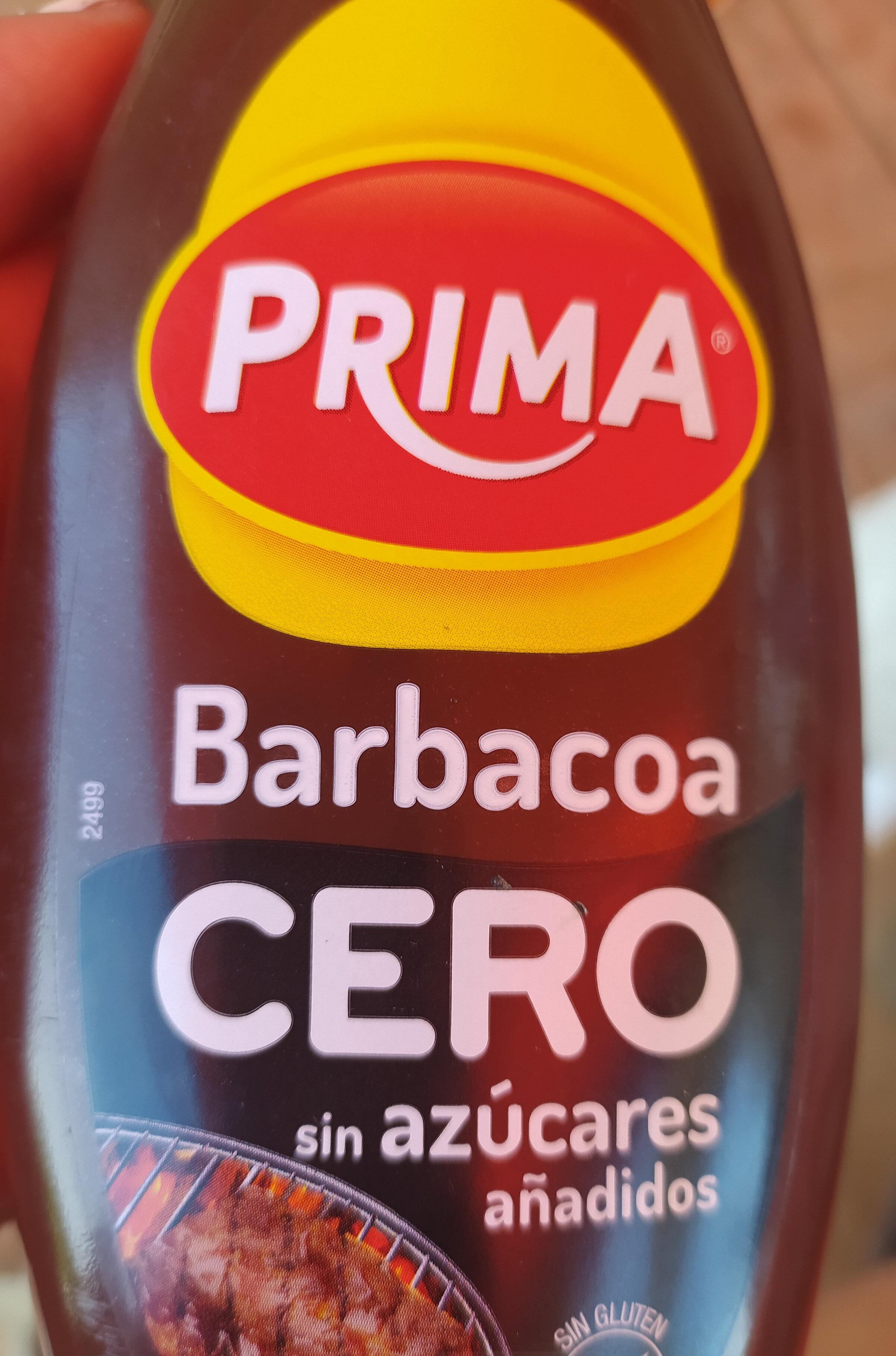 Salsa barbacoa cero sin azúcares añadidos sin gluten - Producto - es