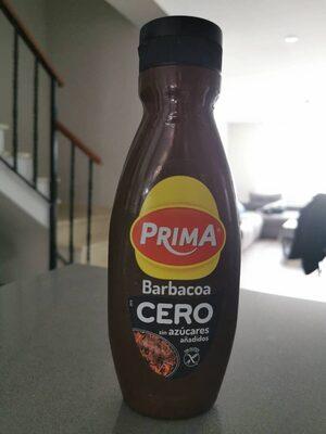 Salsa Barbacoa Cero Prima