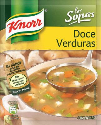 Sopa doce verduras - Produit - es
