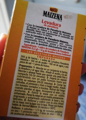 Levadura De Panadería, 27, 5g (5 Sobres) - Ingredientes - es