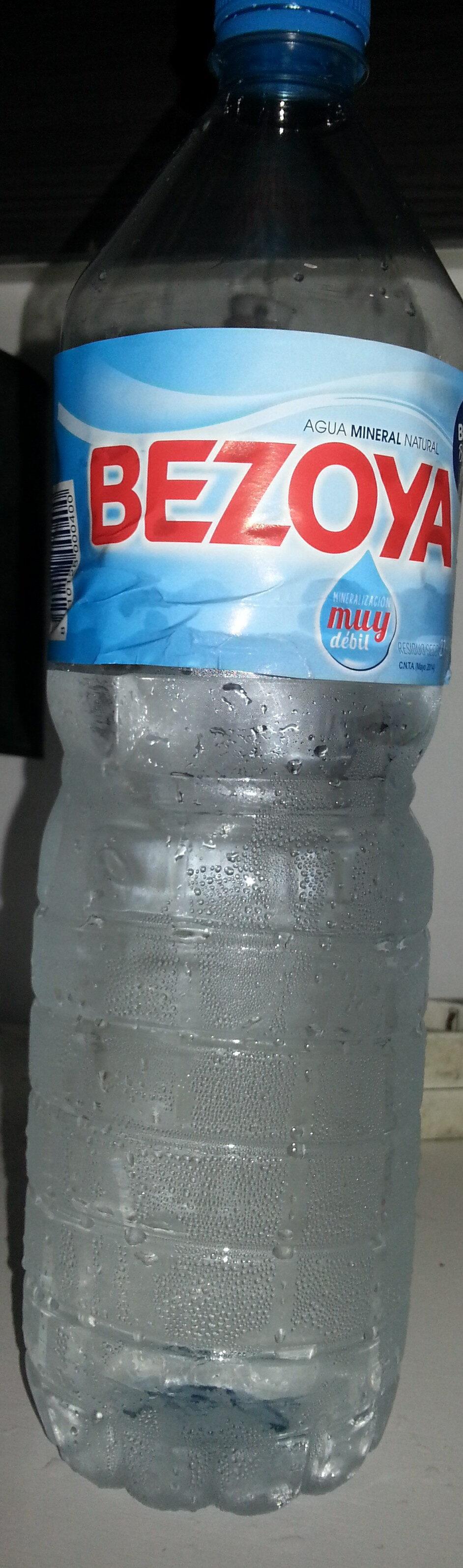 Agua mineral natural - Producte - es