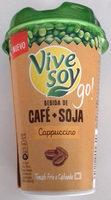Vivesoy go cappuccino - Produit - es