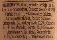 Vivesoy go cappuccino - Ingrédients - es
