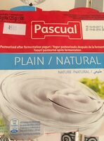 YOGUR PASCUAL SABOR NATURAL PACK-4 - Ingrédients - fr