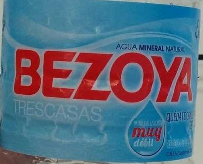 Agua mineral natural de mineralización muy débil - Ingredients - es