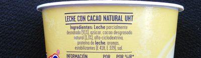 ColaCao Shake - Ingredientes